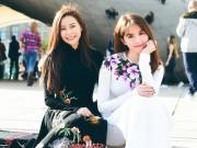 Thời trang - Hoa hậu Hải Dương đọ đường cong nuột nà với Ngọc Trinh