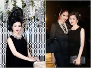 Giáng My đẹp quyền lực, rạng rỡ khi hội ngộ Hoa hậu Thái Lan