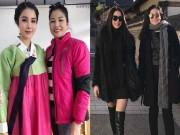 Làng sao - Mẹ Diệp Lâm Anh gây chú ý khi trẻ đẹp không thua kém con gái