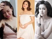 Bà bầu - 7 bà bầu gợi cảm, xinh đẹp nhất showbiz Việt hiện giờ