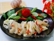 Bếp Eva - Tai heo ngâm giấm giòn thơm, lai rai cho Tết