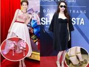 Thời trang - Sao Việt và những đôi giày bằng cả mấy tháng lương cử nhân
