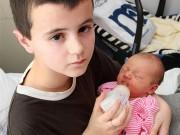 Làm mẹ - Cậu bé 13 tuổi thừa nhận có con với bạn gái nhưng kết quả xét nghiệm ADN lại gây sốc