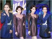 Hoa hậu Thu Hoài, Jolie Nguyễn thân thiết như chị em trong sự kiện