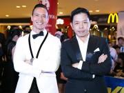 Làng sao - Kim Lý, Thái Hòa nhí nhảnh, đọ vẻ bảnh bao trong buổi ra mắt phim Vệ sĩ Sài Gòn
