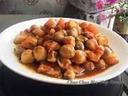 Bếp Eva - Thịt ba chỉ kho nấm rơm tốn cơm phải biết