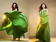 Thời trang - Xanh thiên nhiên là gam màu cần có trong mọi tủ đồ chị em năm 2017