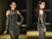 Thời trang - Chi Pu khiến fan Hà Nội thẫn thờ khi hóa thiên thần với váy xuyên thấu
