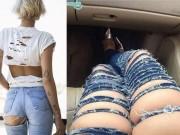 Thời trang - Ngã ngửa trước 4 biến tấu khó hiểu của quần jeans
