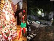Nhà đẹp - Đón Noel, nhà Đàm Vĩnh Hưng tan hoang sau khi công khai trả nợ cho mẹ