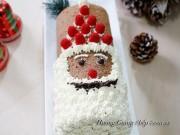 Bếp Eva - Tự làm bánh ông già Noel đẹp mắt cho bé