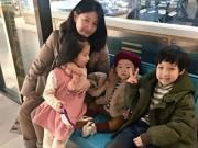 """Làng sao - Fan nức nở khen """"Nàng Dae Jang Geum"""" Lee Young Ae và cặp sinh đôi đáng yêu"""
