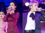 """Làng sao - Đông Nhi, Sơn Tùng M-TP đọ sức """"nóng"""" trên sân khấu"""