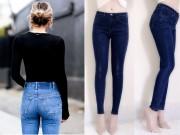 Vòng 3 phẳng lỳ, lép kẹp khỏi phải lo nhờ 5 kiểu quần jeans độn mông tức thì