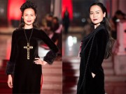 Thời trang - Hoa hậu Thu Thủy môi thâm lạ lẫm ở tuổi 40