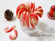 Bếp Eva - Bánh quy hình kẹo gậy thơm ngon dịp Giáng sinh