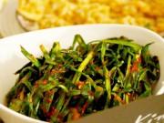 Bếp Eva - Làm kim chi lá hẹ siêu nhanh, ăn ngay sau khi muối