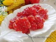 Bếp Eva - Mứt cà chua bi dẻo ngon, ngọt ngào ngày Tết