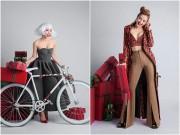 Làng sao - Phương Trinh Jolie đội tóc giả, khoe ngực đầy trước thềm Giáng sinh