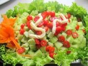 Bếp Eva - Cà chua cấm kỵ tuyệt đối khi chế biến và ăn cùng dưa chuột