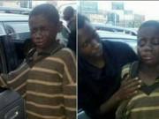 Tin tức - Cậu bé ăn xin bất ngờ bật khóc sau khi giơ tay xin tiền từ người đàn bà lạ trong xe ô tô