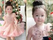 """Làng sao - Con gái Elly Trần lại """"gây thương nhớ"""" với vẻ ngoài xinh như thiên thần"""