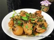 Bếp Eva - Gà kho rau răm tuyệt ngon cho ngày lạnh