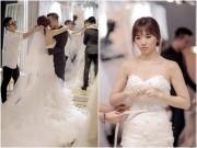 Làng sao - Trấn Thành - Hari Won ngọt ngào, say đắm khi đi chụp hình cưới