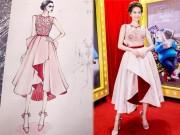 Thời trang - Điều chưa biết về những chiếc váy hot nhất của Ngọc Trinh, Thu Thảo, Chi Pu
