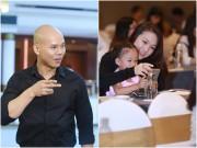 Làng sao - Phan Đinh Tùng tự hào khoe vợ đẹp con xinh trong sự kiện