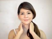 Làm đẹp - Gương mặt chuẩn V-line không cần phẫu thuật