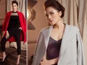 Thời trang - Hoa hậu Kỳ Duyên quyến rũ đến lặng người với chất liệu nhung