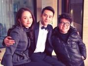 """Mới dính tin """"cặp"""" trai trẻ kém 20, Trần Kiều Ân bị bắt gặp đi ăn cùng mẹ Vương Khải"""