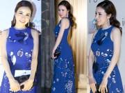 Thời trang - Tín đồ thời trang Hà Thành nổi bật với đầm xanh duyên dáng