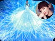 """Váy khổng lồ lại còn phát sáng của sao Việt khiến fan """"đứng tim"""""""