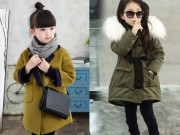 Thời trang - Kiểu áo khoác đẹp và ấm mặc vào là sành điệu, mẹ nào cũng nên sắm cho con