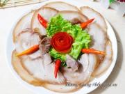 Bếp Eva - Thịt chân giò ngâm mắm ăn chơi ngày Tết