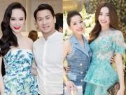 Làng sao - Chi Pu, Angela Phương Trinh thân thiết với em chồng Hà Tăng
