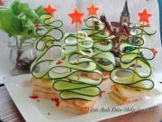 Bếp Eva - 5 phút trang trí cây thông cho bữa tiệc thêm ấm