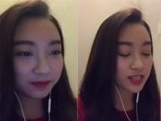 Video: HH Mỹ Linh nhí nhảnh hát nhạc Giáng Sinh dành tặng fan