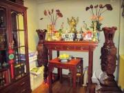 Nhà đẹp - Dọn dẹp và bày biện bàn thờ đúng cách đón tài lộc sung túc cả năm