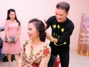 Làng sao - Đàm Vĩnh Hưng tự tay làm tóc cho Cẩm Ly