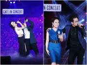"""Làng sao - Hà Anh Tuấn ôm eo Phương Linh, nắm tay Uyên Linh, """"cháy"""" hết mình cùng sinh viên"""