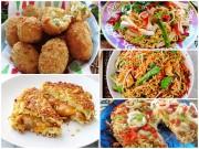 Bếp Eva - Xem 5 biến tấu để thấy mì tôm không chỉ để 'úp' ăn liền