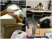 """Ngày mới - Sốc với hình ảnh cặp đôi thản nhiên """"ân ái"""" giữa thư viện trường"""