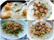 Bếp Eva - 4 món cháo thơm ngon, bổ dưỡng cho bữa sáng