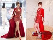 Thời trang - Vừa đám cưới xong, Hari Won đã đụng váy với Ngọc Trinh