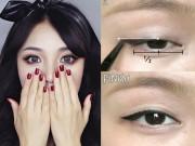 """7 bước make up """"dễ như ăn kẹo"""" biến mắt một mí trở nên to tròn như búp bê"""
