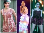 Thời trang - Choáng với những bộ váy thời trang làm từ bao cao su, tóc, rác, thịt sống