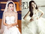 Thời trang - Khi sao Việt làm cô dâu, ai cũng muốn được làm chú rể